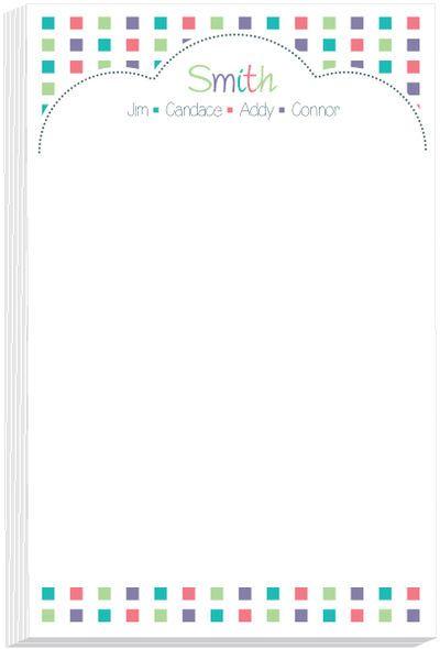 Half Bubble Note Pad