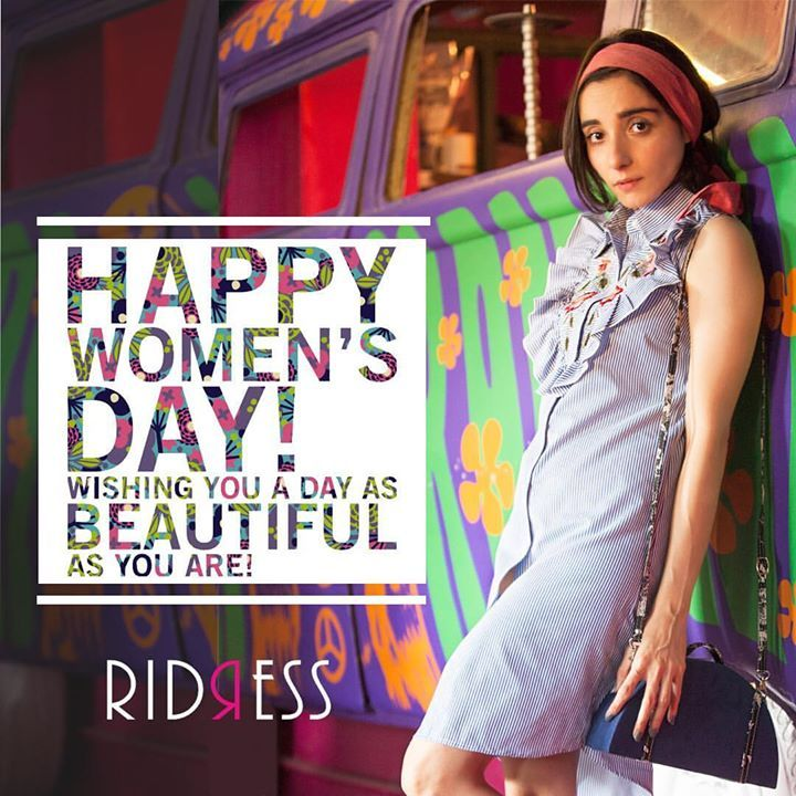 There something special in all women-there's a reason the world celebrates us! Happy Women's Day to all you ahh-mazzingg ladies out there! Let's make the celebration count! . . Seen here the ace blogger and social media influencer @kayaancontractor wearing a custom made #ridress for @onceuponatrunk  #girlpower #happywomensday #beboldforchange #bebeautifulinsideout #internationalwomensday