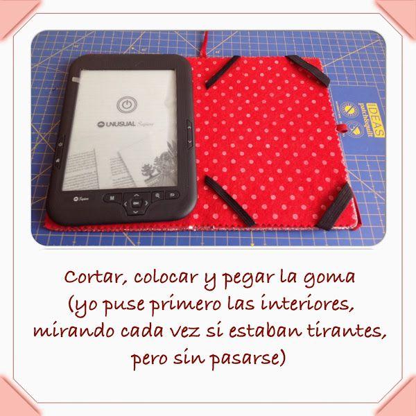 DIY Funda tablet o ebook