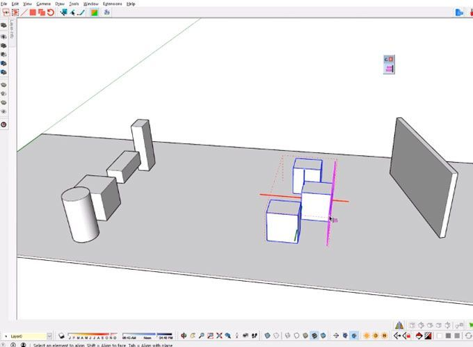 Sketchup Extension Curic Space Is Designed To Help Users To Space Objects Inside The Models Quickly And Users Can Use This Extensi Space Icons Plugins Function