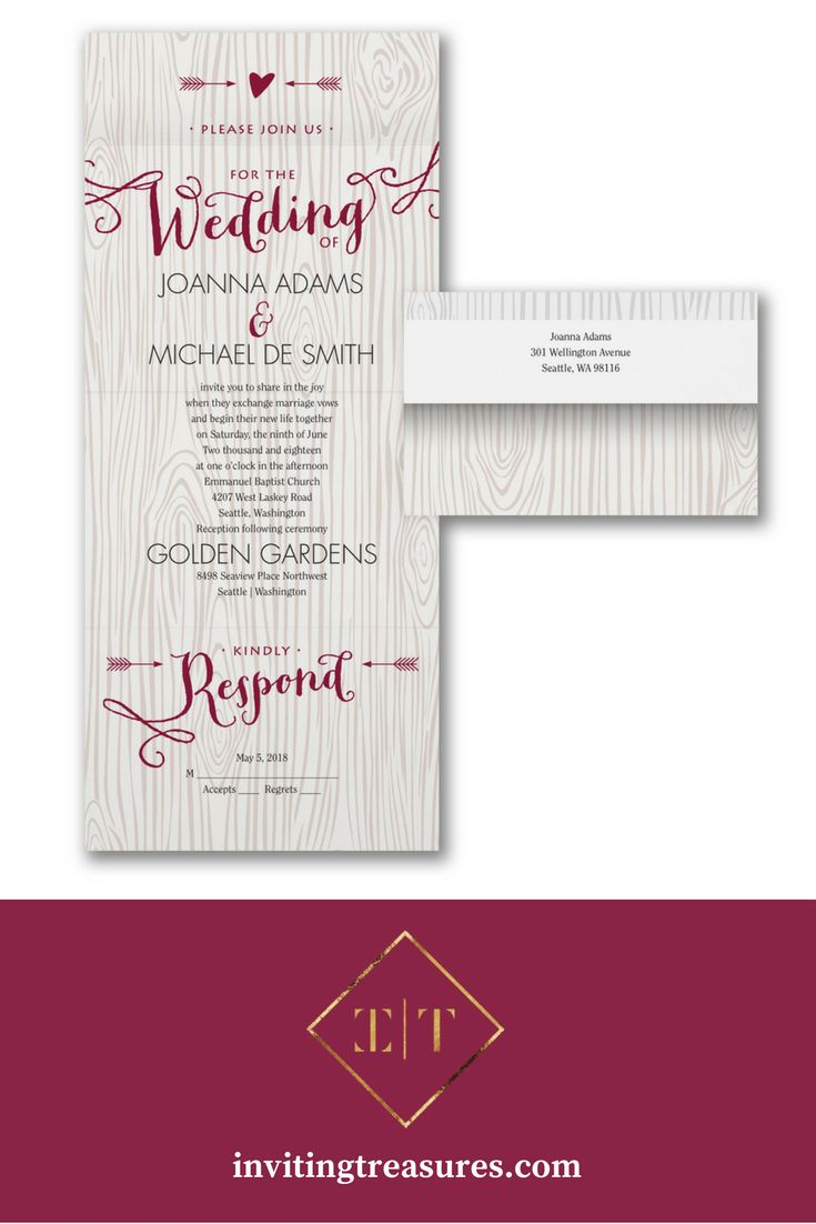 166 best Our Wedding Invitations images on Pinterest | Blusher ...