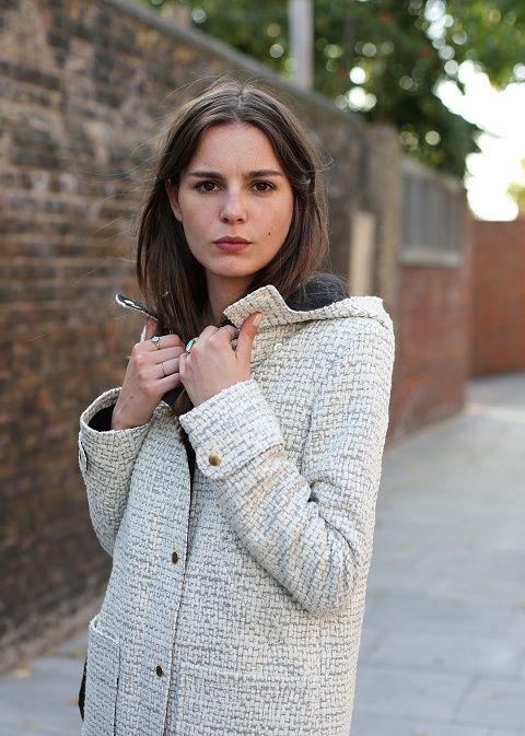 Sézane / Morgane Sézalory - Beckett coat #sezane #beckett