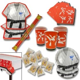 Check out the Martial Arts Party Pack at www.karatemart.com