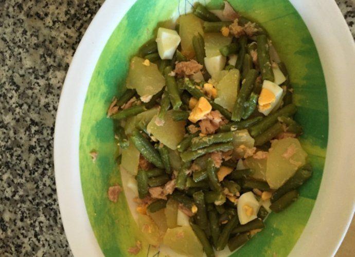 Ensalada de patata y judías verdes para #Mycook http://www.mycook.es/cocina/receta/ensalada-de-patata-y-judias-verdes