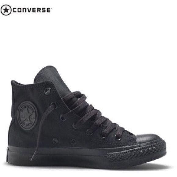 Black converse in 2020 | Black converse