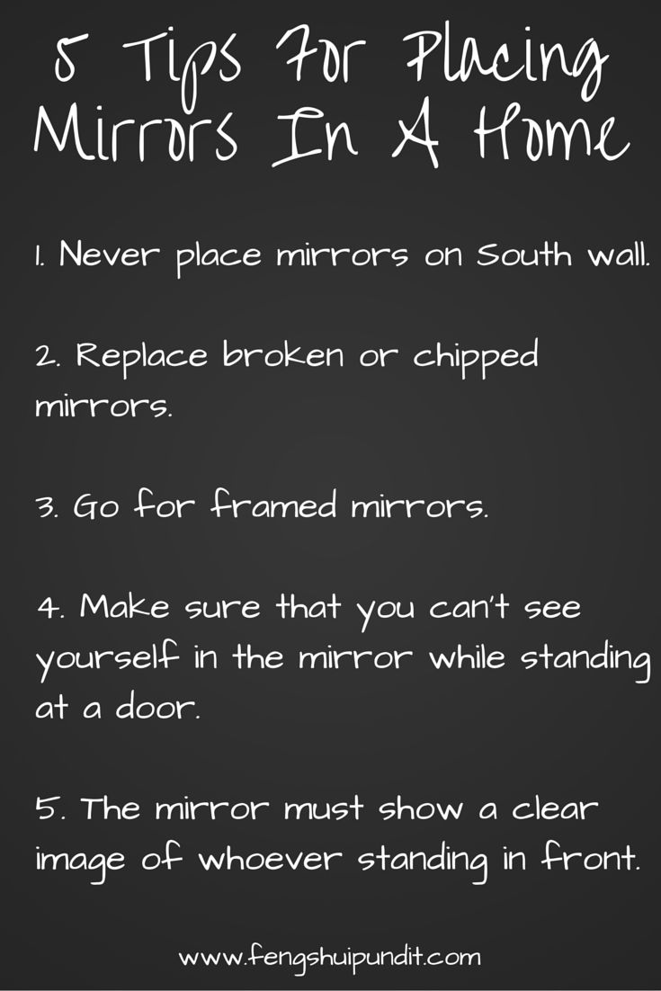 Feng Shui Mirror Placement Is Vital Incorrectly Placed Attracts Negative Energy Read Apply Tips Youre Done
