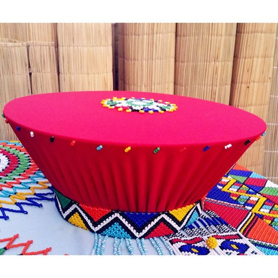 Zulu traditional basket hat (Isicholo)