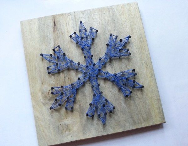 Best 25 make a snowflake ideas on pinterest snow flakes for What can you make out of string
