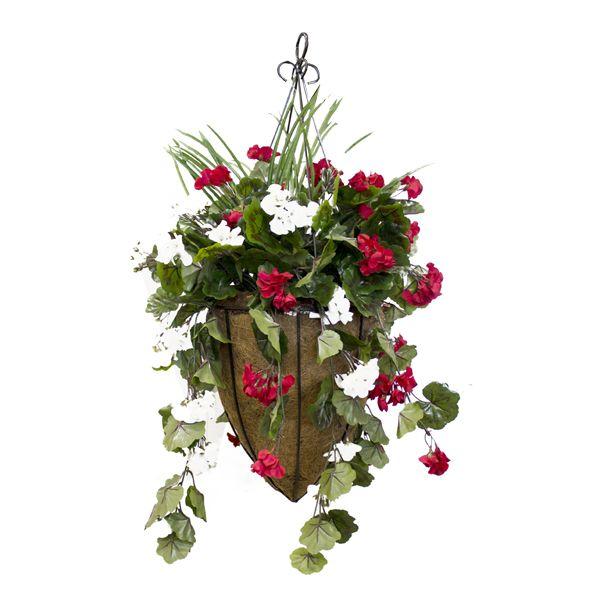 17 meilleures id es propos de jardini res suspendues sur - Pot suspendu pour plantes ...