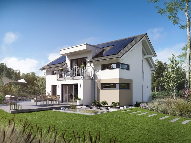 Musterhaus modern satteldach  13 besten Ökohaus Bilder auf Pinterest | Kostenlos, Satteldach und ...