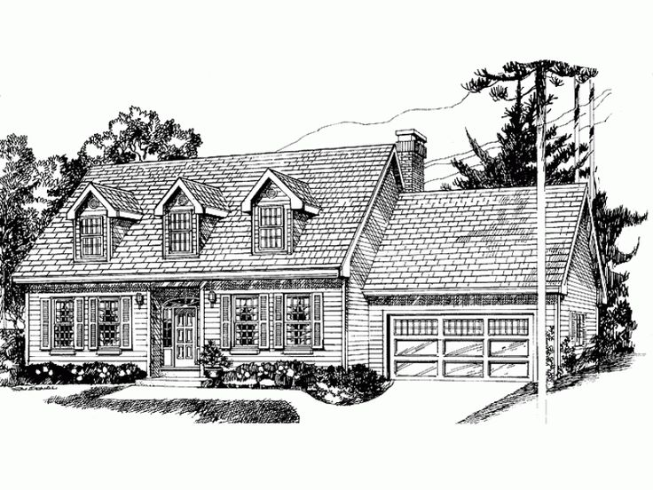 Best Cape Cod Homes Images On Pinterest Cape Cod Style House - Colonial cape cod style house plans