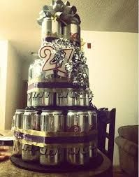 Image result for how to make a beer can cake