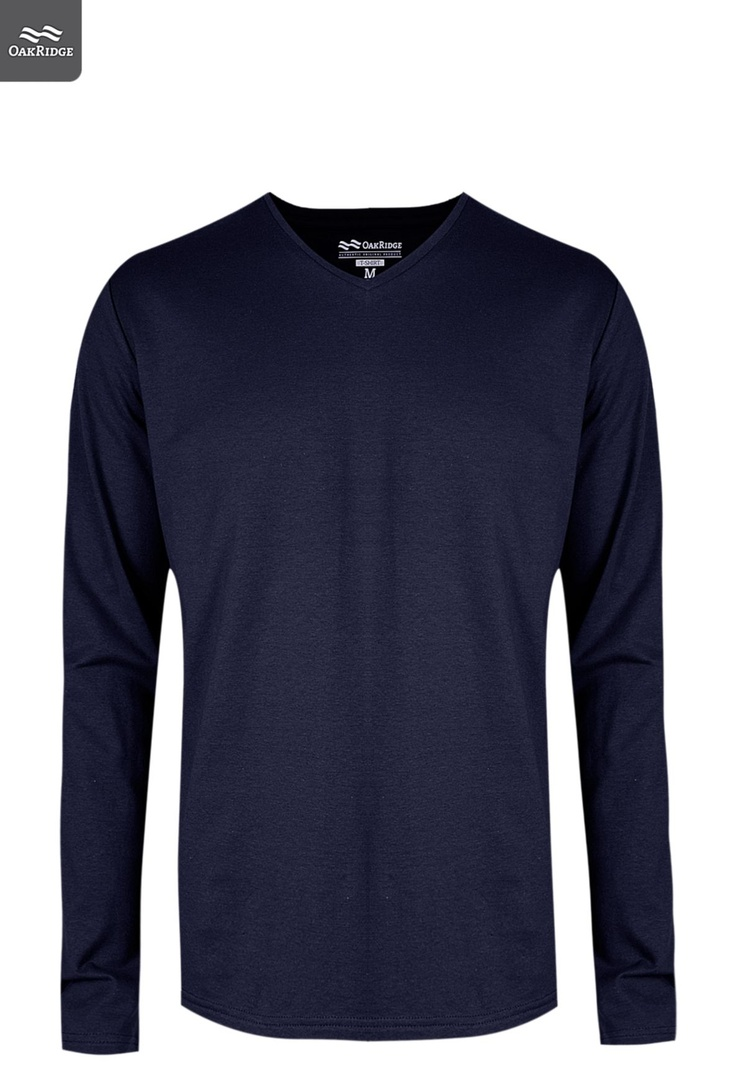 Mens Long Sleeve V-neck T-shirt | A Few Favourites