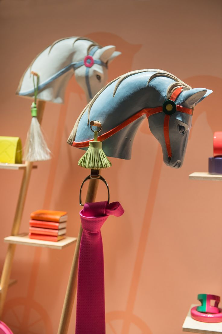 Hermes Window Display | Sporting Life by Millington Associates