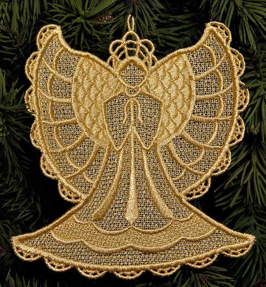 Free Machine Embroidery Designs | ABC Free-Standing Lace Designs. Lace Embroidery Designs Sets