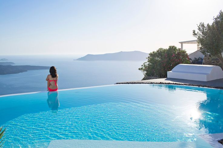 112 of the most stunning swimming pools in the world islands the o 39 jays and pools - Santorini infinity pool ...