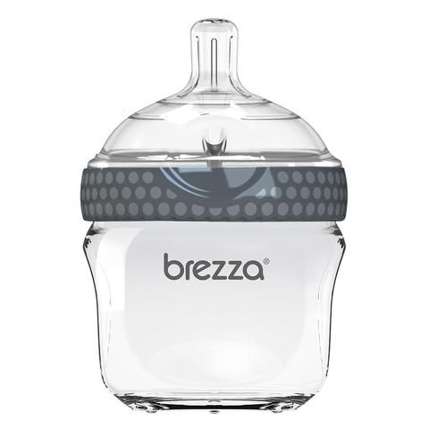 Baby Brezza Bottle | glass, two parts, easy flow