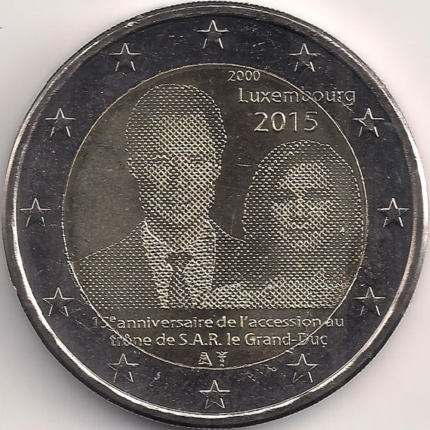 Motivseite: Münze-Europa-Mitteleuropa-Luxemburg-Euro-2.00-2015-Accession au trône