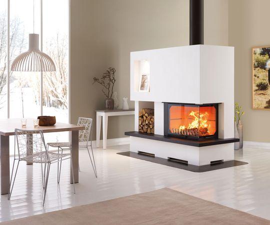 20 modèles de cheminée ou poêle à bois