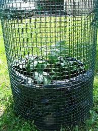 tour à pomme de terre, ou comment récupérer 25-30 Kg de patates sur 50cm², encore un truc à tester !!!