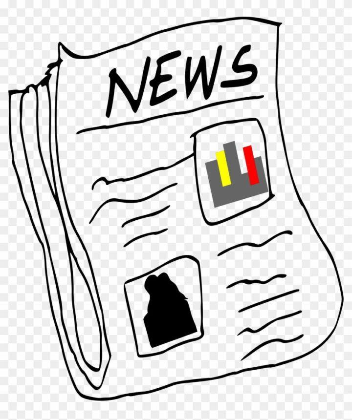 Big Image Newspaper Clipart Png Clip Art Image Png