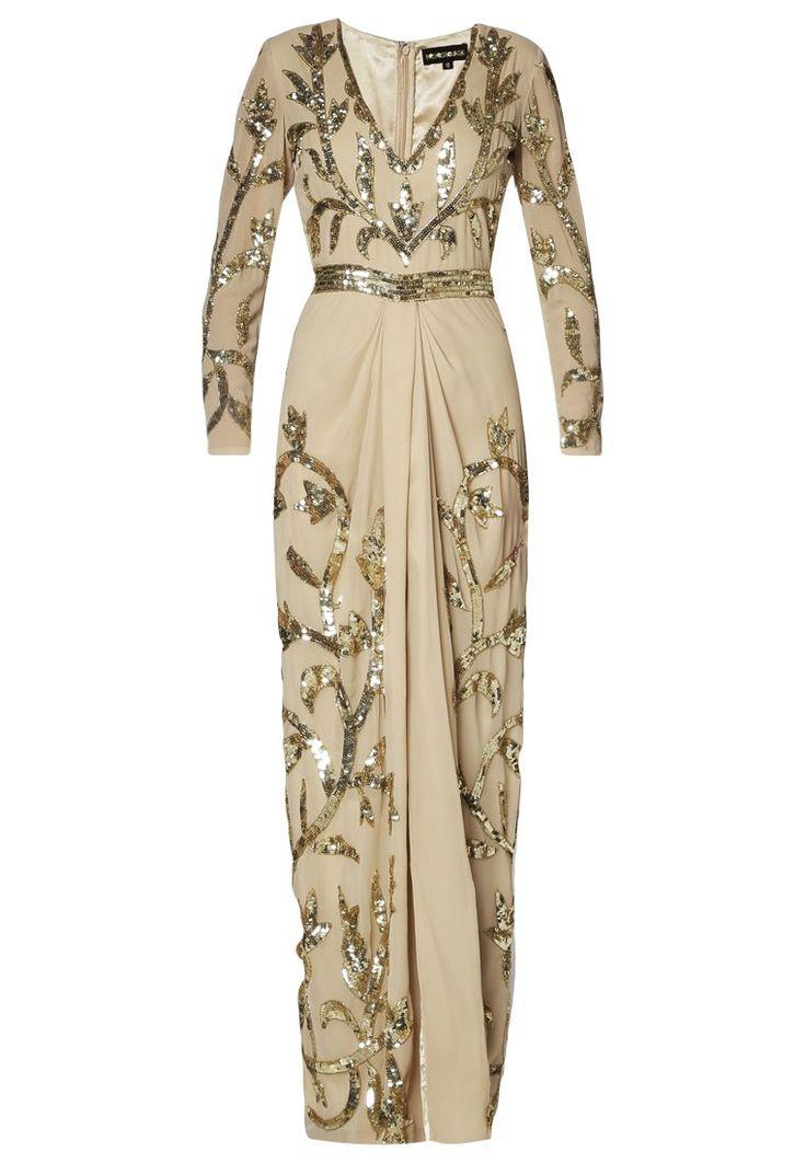 Virgos Lounge TAYLOR - Fotsid kjole - gull