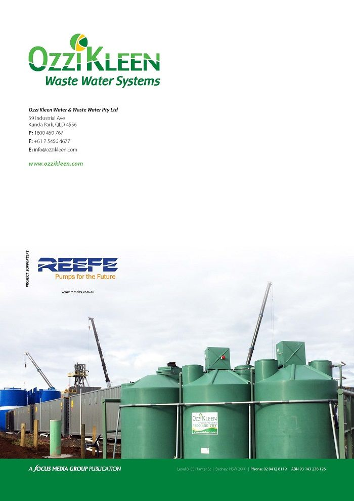 P6. Ozzi Kleen Waste water systems - www.ozzikleen.com