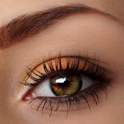 so pretty for hazel eyes like mine  fall eye makeup