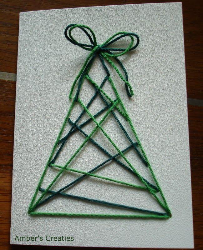 Kerstkaart zelf maken