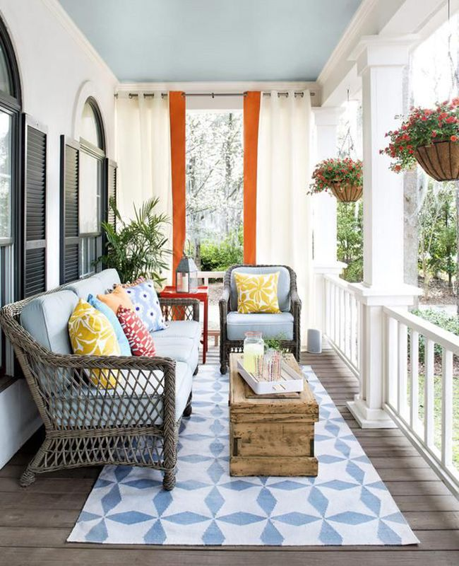 10 Porches and Outdoor Spaces Perfect for Sipping Iced Tea.