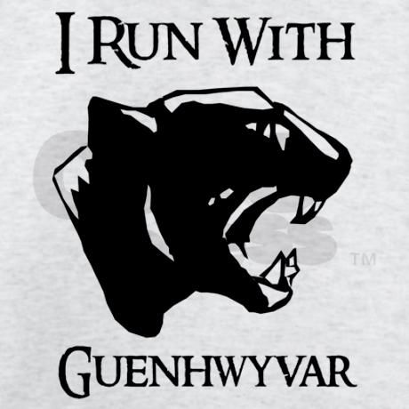I Run With Guenhwyvar @Tom Shelley