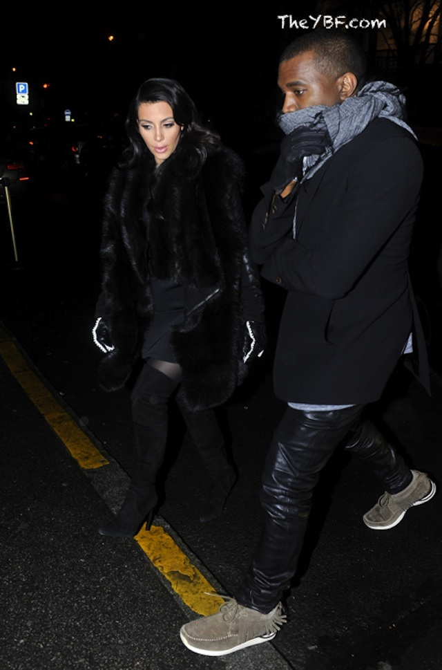 Kanye West wearing Visvim FBT Shaman