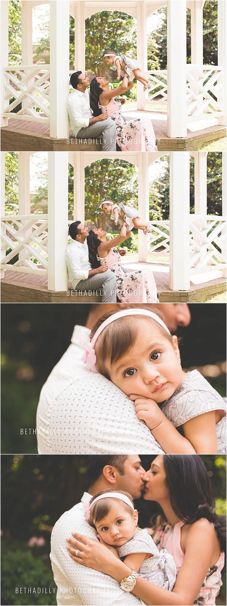 him + her + a darling little girl | northern virginia family photographer » beth a-dilly photography | Alexandria VA, Fairfax VA, DC | Family, Children, Maternity, Engagement Photographer