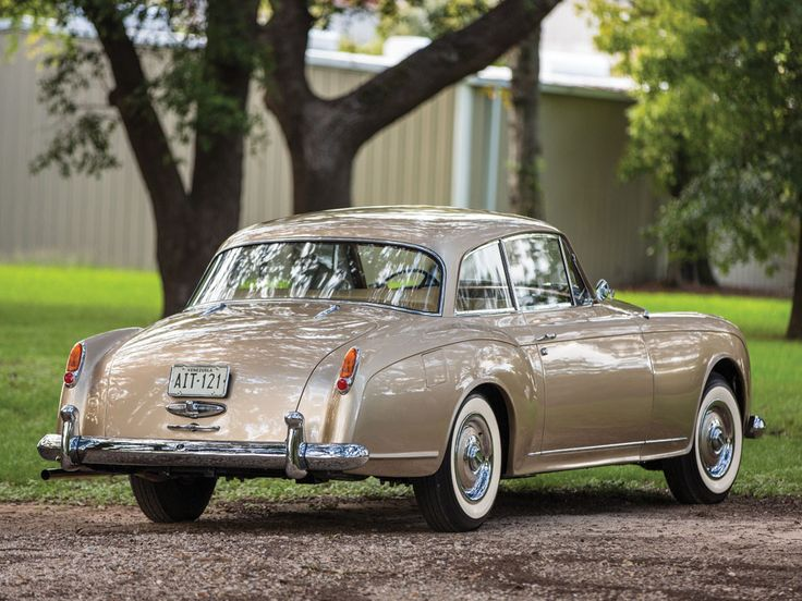 1958 Bentley S1 Continental Coupe by Park Ward