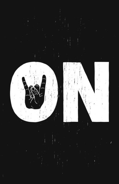 """ROCK ON! Even though there will always be distractions in life, sometimes I need to remind myself to just """"rock on"""". And enjoy the wave! :)"""