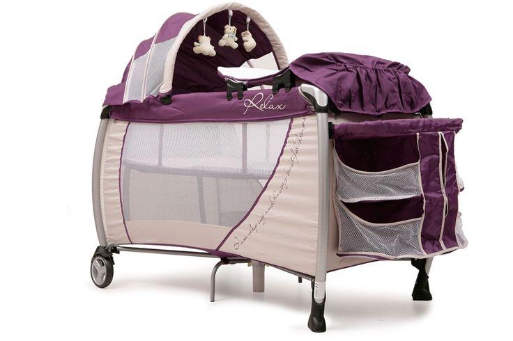 Patut Pliant Bebe CANGAROO Relax Purple -patut cu doua niveluri: pentru odihna si pentru joaca. -usor de transportat, usor de montat/demontat. -nivelul 1 se poate folosi pentru joaca si nivelul 2 se poate folosi pentru somn. -roti blocabile. -pliere compacta