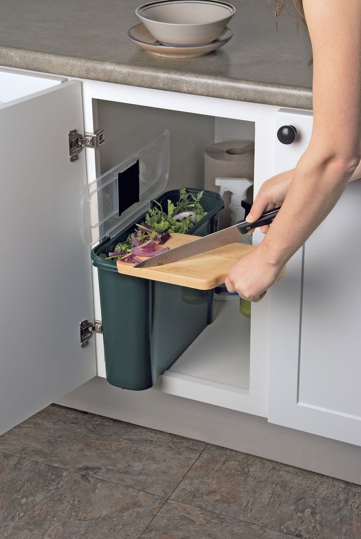Indoor composting bin (for transferring to outside bin) Slimline Compost Caddy