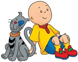 Caillou-  THIS my friends... is Leona's best bud.