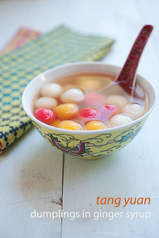 Dongzhi Tang Yuan (Sweet Dumplings) to celebrate Chinese winter solstice which falls on Dec 22. #dumplings #festival