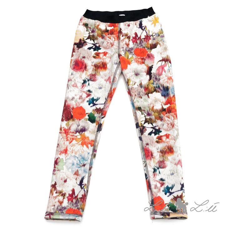 Lù:Lù udsalg børnetøj Smarte fleece leggings tilbud børnetøj