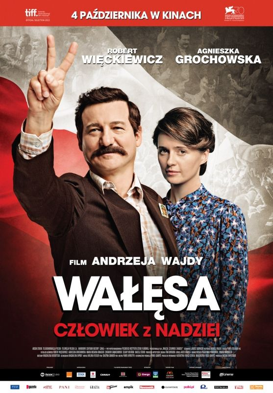 Walesa. Man Of Hope (Andrzej Wajda, 2013) - Polish poster #film #poster #cinema