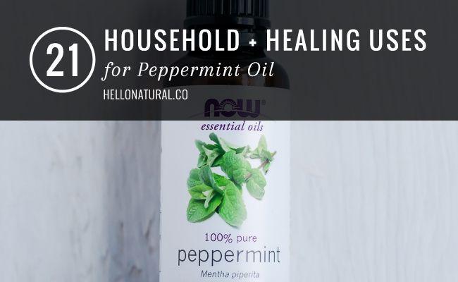 21 toepassingen voor Pepermuntolie | HelloNatural.co