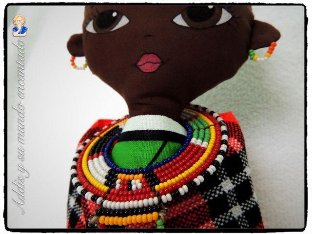 Maasai Dolls - http://www.addisbh.com/maasai-dolls/