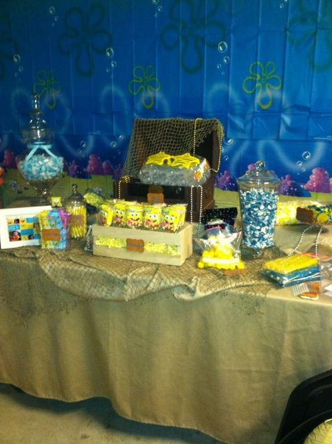 "Photo 2 of 14: Spongebob Square Pants / Birthday ""Justins Spongebob Party"" 