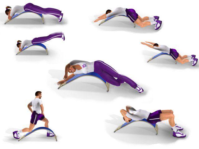 Oefeningen Body Bow