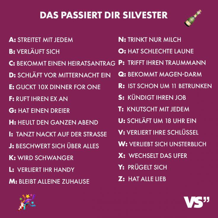 Status Sprüche Silvester