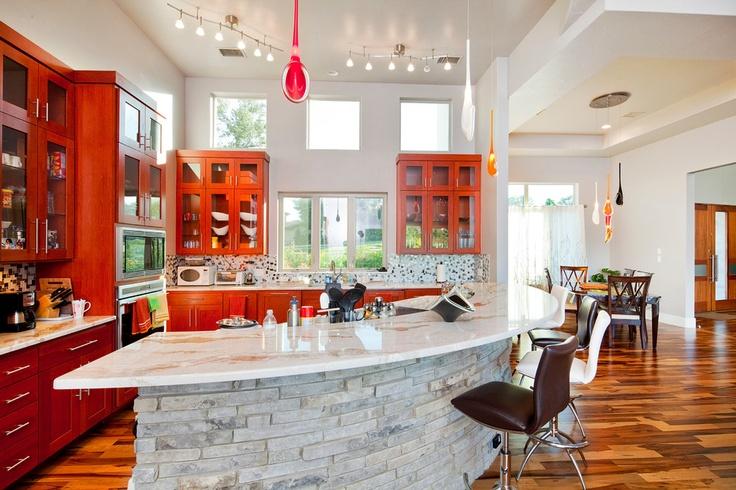 #diseño De #cocinas Cocinas Modernas En Color Negro En Linea 3 Cocinas  #madrid #ciempozuelos   Cocinas Modernas   Pinterest   Black Cabinet,  Kitchens And ...