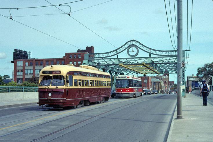 PCC 4500 on Don River bridge