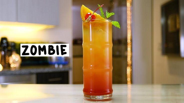 Zombie   Recipe   Tipsy bartender, Bartender, Rum cocktail