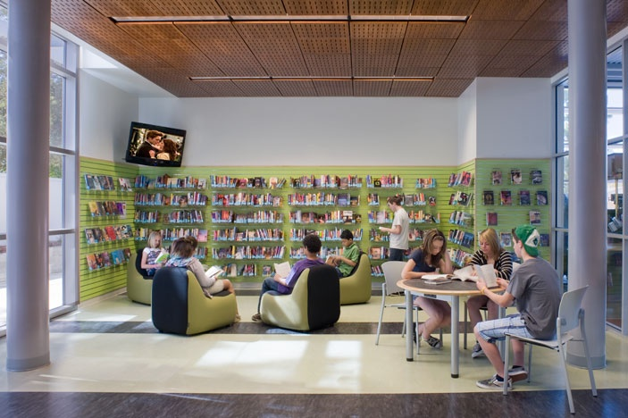 library spaces -